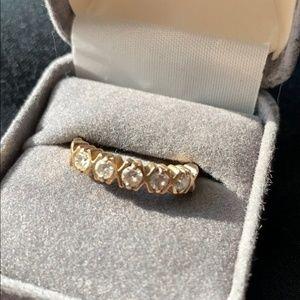 Diamond Band - 14K - 0.5 CTW - Size 8